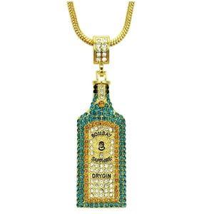Wine Bottle Style Necklace